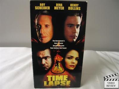 Time Lapse VHS Roy Scheider, Dina Meyer, Henry Rollins, William McNamara; Worth