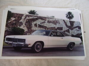 1970 FORD LTD 2DR HARDTOP     11 X 17  PHOTO  PICTURE