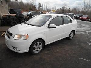 XMAS DEAL ! 07 CHEV AVEO 60000 KM , NEW WINTER TIRES FREE!