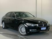 2012 BMW 320d F30 Black 8 Speed Sports Automatic Sedan Bayswater Bayswater Area Preview