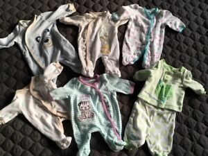 PJ's for Preemie or small babies