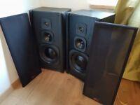 A pair of ART audio speakers 150W in Black