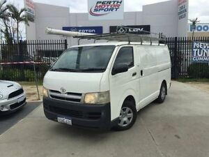 2006 Toyota Hiace KDH200R LWB French Vanilla 5 Speed Manual Van Beckenham Gosnells Area Preview