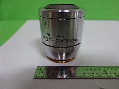 Microscope Part Leica Reichert Polyvar Objective Fluor 10x Optics As Is Ai-19