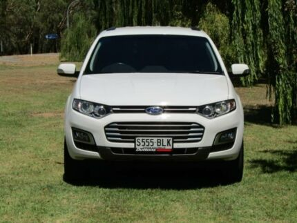2016 Ford Territory SZ MkII TS Seq Sport Shift White 6 Speed Sports Automatic Wagon Hahndorf Mount Barker Area Preview