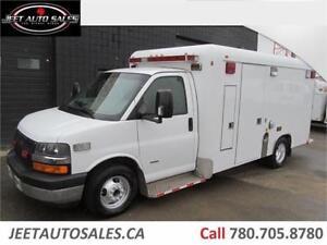 2007 Chevrolet Express Ambulance Body 6.6L Duramax Diesel