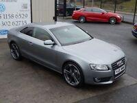 AUDI A5 2.0 TDI SPORT 168 BHP COUPE ( FINANCE & WARRANTY A (grey) 2009
