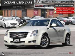 2008 Cadillac CTS w/1SB Accident Free!