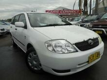 2002 Toyota Corolla ZZE122R Ascent White 5 Speed Manual Wagon Edgeworth Lake Macquarie Area Preview