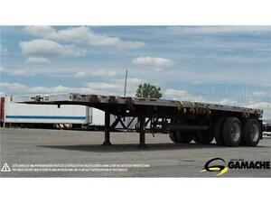 MANAC FLAT BED COMBO 32' 2009 À VENDRE / TRAILER FOR SALE