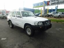 2011 Nissan Patrol GU VII DX (4x4) Polar White 4 Speed Automatic Wagon Westcourt Cairns City Preview