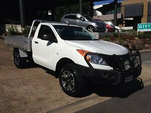 2012 Mazda BT-50 XT (4x4) White 6 Speed Manual Cab Chassis Bowen Hills Brisbane North East Preview