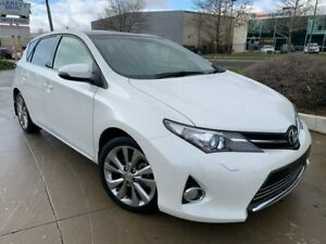 2013 Toyota Corolla ZRE182R Levin ZR White 6 Speed Manual Hatchback Fyshwick South Canberra Preview