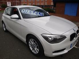 13 BMW 116 2.0TD SE //CRUISE /CLIMATE/£20 A YEAR ROAD TAX/