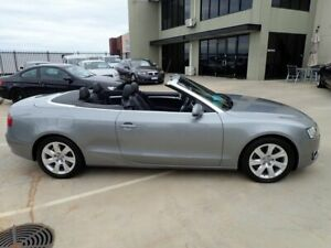 2010 Audi A5 8T MY10 Multitronic Grey Metallic 8 Speed Constant Variable Cabriolet Wangara Wanneroo Area Preview