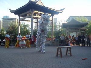 Chinese Lion Dance / Wushu Manitoba Lion Dance Team.