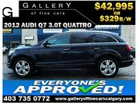 2012 Audi Q7 3.0T QUATTRO $329 bi-weekly APPLY NOW DRIVE NOW