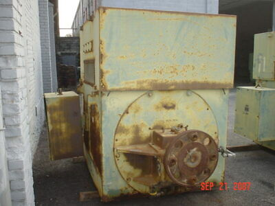 450 Hp Reliance Ac Electric Motor 360 Rpm Fr 9252 Wpiisb 2300 V Eok