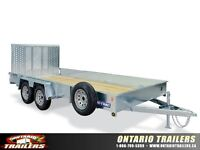 SURE-TRAC Galvanized High Side Utility