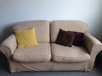 LARGE 3 SEATER VERY COMFY AND CLEAN SOFA - PRELOVED - FREE