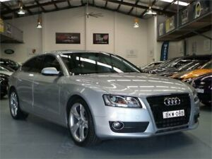 2011 Audi A5 8T MY11 Sportback 3.0 TDI Quattro Ice Silver 7 Speed Auto Direct Shift Hatchback Seven Hills Blacktown Area Preview