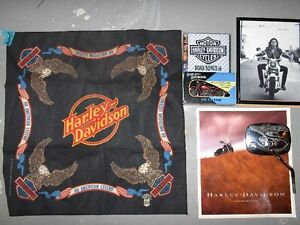 HARLEY DAVIDSON Books and Other Items
