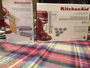 Kitchen Aid past attachments