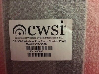 New Cwsi Cp-3000 Wireless Commercial Fire Alarm System 4 New Available