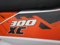 KTM 300 XC 2012 ENDURO ROAD REGISTERED ELECTRIC START MX MOTOCROSS BIKE