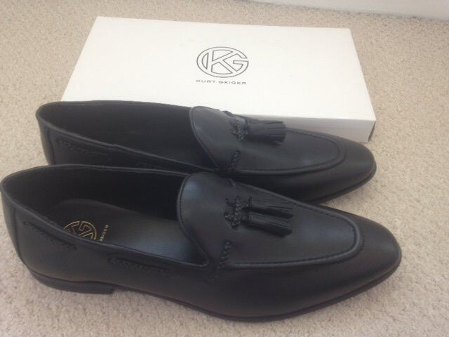 ATTENTION - MENS BRAND NEW KURT GEIGER LOAFERS FOR SALE - SIZE 11 (BLACK)
