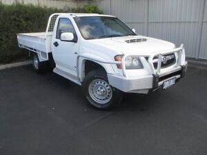 2008 Holden Colorado RC LX White 5 Speed Manual Cab Chassis Invermay Launceston Area Preview