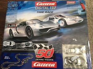 Carrera D132 Time Race - Race Car Set - Brand New