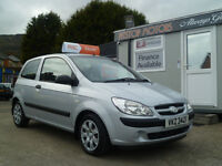 2008 HYUNDAI GETZ 1.1 GSI GROUP 4 INS ONLY 60K.FREE 6 MONTHS RAC WARRANTY.FINANCE AVAILABLE