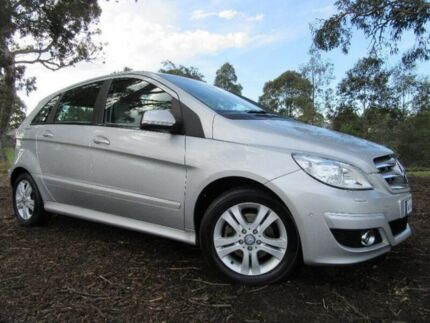 2009 Mercedes-Benz B200 W245 MY09 Silver 7 Speed Constant Variable Hatchback Doveton Casey Area Preview