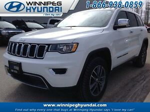 2017 Jeep Grand Cherokee 4x4 Limited Leather Sunroof No Accident