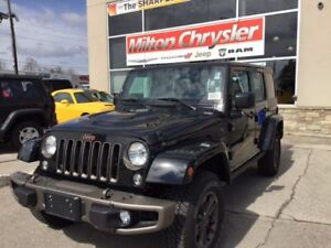 2017 Jeep Wrangler Unlimited 75th Anniversary Edition