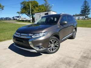 2017 Mitsubishi Outlander ZK MY17 LS 4WD Brown 6 Speed Constant Variable Wagon Gympie Gympie Area Preview