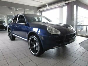 2006 Porsche Cayenne S S Blue 6 Speed Tiptronic Wagon Thornleigh Hornsby Area Preview