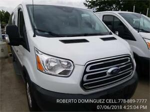 """2016 Ford Transit Wagon XLT V6 3.5L 150 130"""" Low ROOF 10 PASS"""