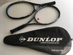PRO Tennis Racquets (Dunlop + Wilson) & HEAD Tennis Bag!