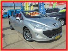 2010 Peugeot 308 T7 CC Silver 6 Speed Manual Convertible Holroyd Parramatta Area Preview