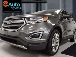 2015 Ford Edge Titanium AWD with NAV, back up cam, heated/cooled