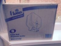 Lotus professional toilet roll dispenser ( jumbo) - E02233Z - NEW