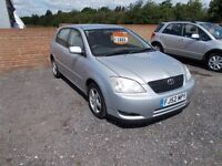 Toyota Corolla 1.4 VVT-i T3 5dr LOW MILEAGE 3 MONTH WARRANTY Minster Autos ME12 3RT