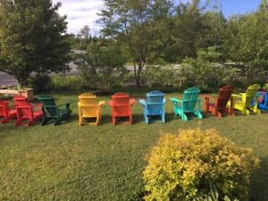 MUSKOKA CHAIR PAINTED - READY TO GO