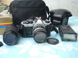 Nikon FM2 kit completed with zoom & flash