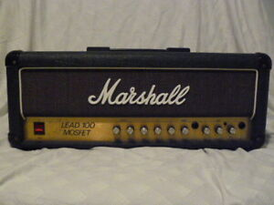 Vintage Marshall Mosfet and Cab