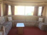 cheap double glazed and central heated caravan on brilliant family park