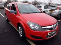 VAUXHALL ASTRA 1.6 RED 54 REG