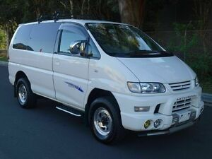 2005 Mitsubishi Delica Spacegear Low Roof 8st White 4 Speed Automatic Wagon Taren Point Sutherland Area Preview